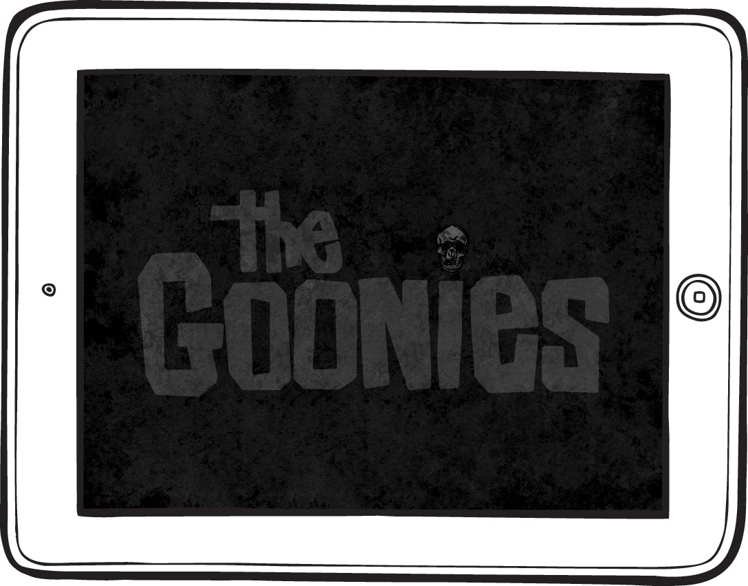 Goonies iPad Game